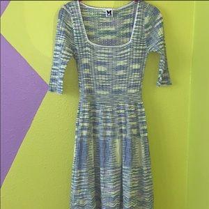 NWT M Missoni space dye knitted dress